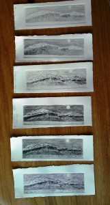 drypoint 1 - 6 proofs