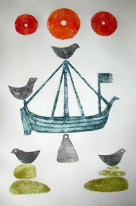 Birlinn, Beads, Birds and Bell