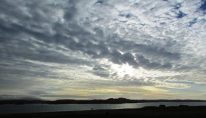 afternoon sky sound of iona